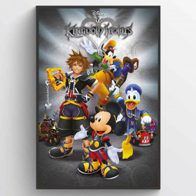 Kingdom Hearts (Classic) Plakat wallsticker