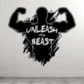 Unleash The Beast wallsticker