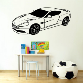 Aston Martin DB9 wallsticker