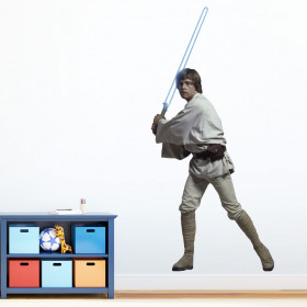 Star Wars - Luke Skywalker wallsticker