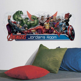 Avengers - headboard wallsticker