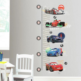 Cars - høydemåler wallsticker