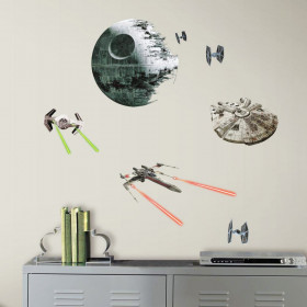 Star Wars - Klassisk romskip wallsticker