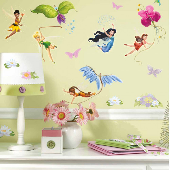 Disney Fairies - pakke wallsticker