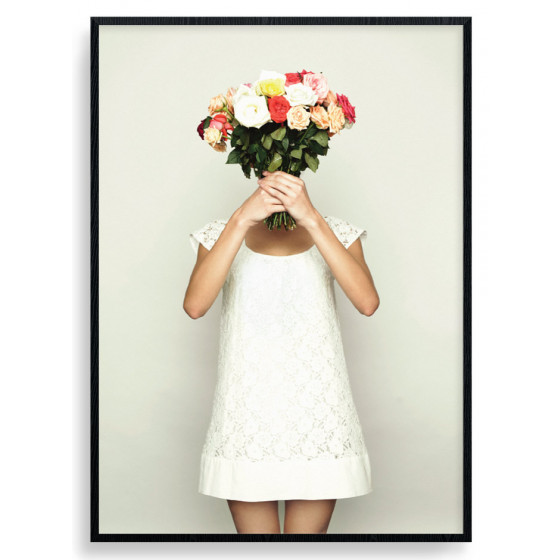 Flowers For You! Plakat wallsticker