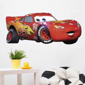 Cars - Lightning McQueen wallsticker