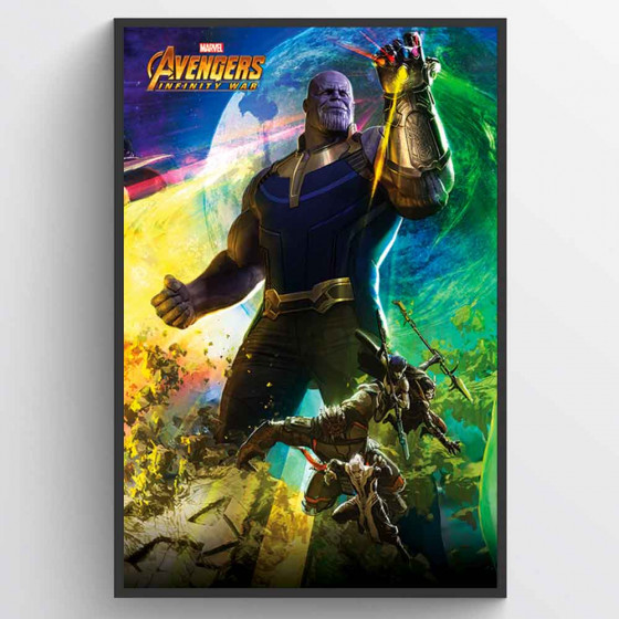 Avengers - Thanos Plakat wallsticker