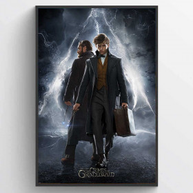 Fantastic Beasts The Crimes Of Grindelwald (Newt & Dumbledore) Plakat wallsticker