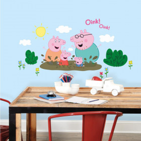 Peppa Gris #2 wallsticker