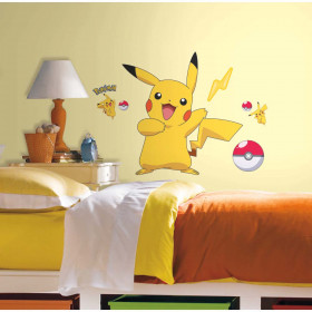Pokemon - Pikachu wallsticker