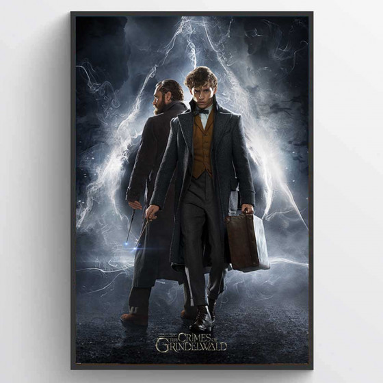 Fantastic Beasts The Crimes Of Grindelwald Plakat wallsticker
