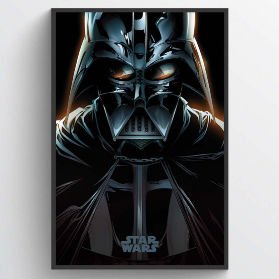 Star Wars - Darth Vader Plakat wallsticker