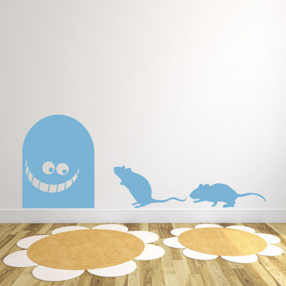 Musefellen wallsticker